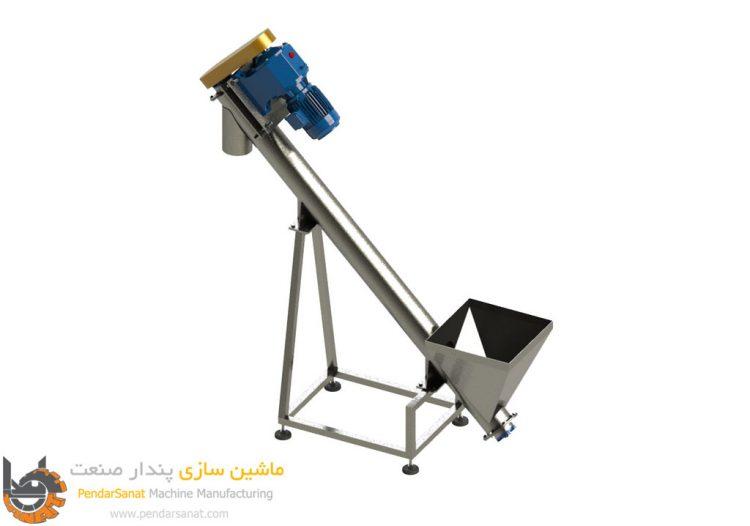 دستگاه انتقال پودر اسکرو