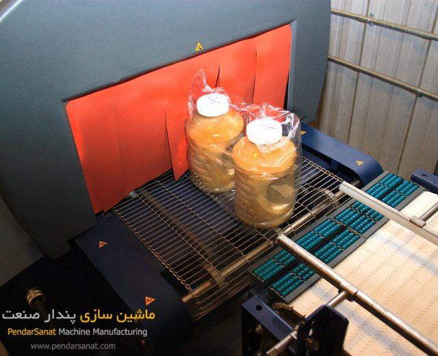 تونل حرارتی دستگاه شرینگ پک
