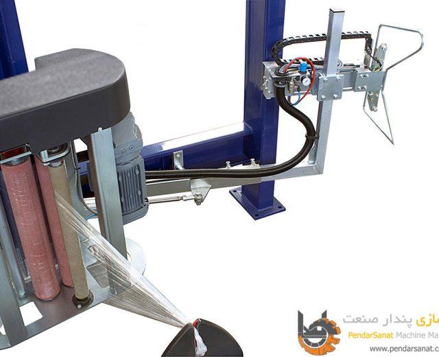 قابلیت پیش کشش (Pre Stretch) در دستگاه استرچ پالت