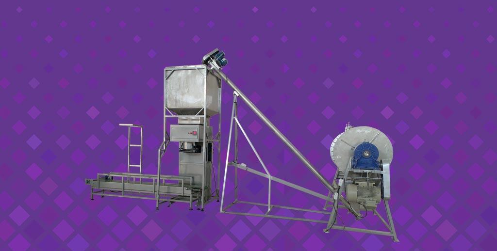 خط تولید میکسر پودر و کیسه پرکن
