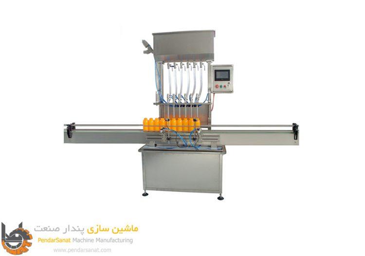 دستگاه پرکن مایعات نیمه اتوماتیک