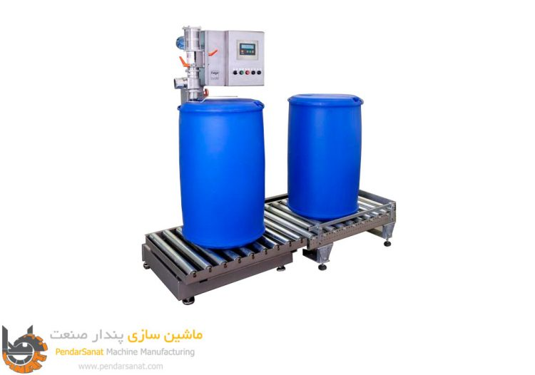 دستگاه پرکن بشکه 220 لیتری